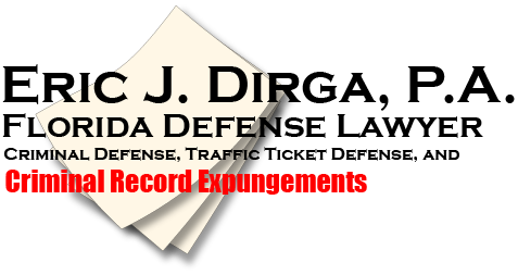 After Your Record Is Expunged, What's Next? | Eric J DIrga PA